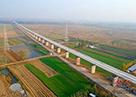 鲁南高铁全线无砟轨道施工率先在中铁十四局四公司管段展开