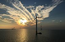 我国最大单机容量风电机组基础超大直径单桩顺利沉桩