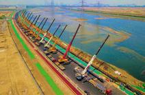 国内采用电预热施工的最大管径热力管网投运