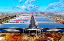 全球最大会展中心提升千吨级网壳创世界首例