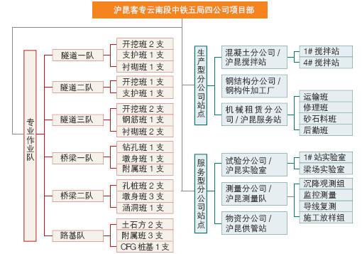公司项目组织结构