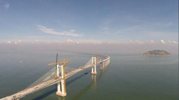 广东省第一座跨海大桥 南澳大桥正式通车