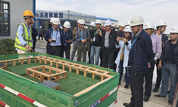 陕西建工集团——西安交通大学科技创新港科创基地项目观摩现场